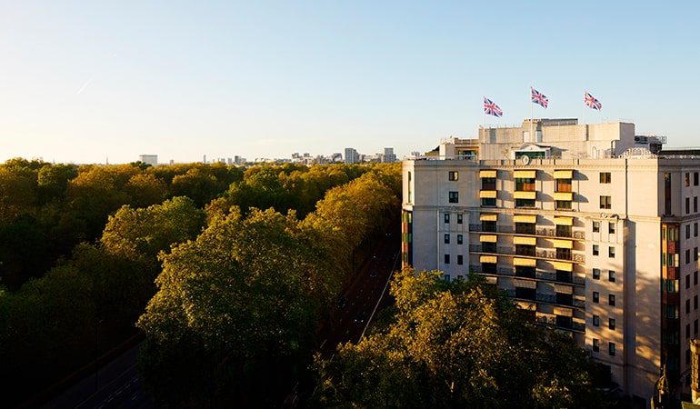 The Dorchester Sunset exterior medres